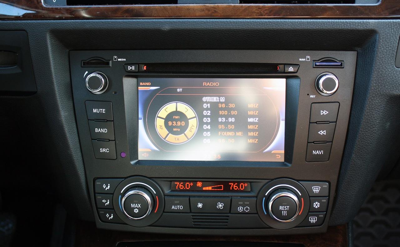 Bmw Aftermarket Navigation E90