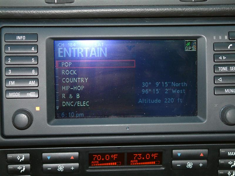 Bmw Navigation Sirius Auxiliary Audio Retrofit Bimmernav Online Rhstorebimmernav: 2004 Bmw 325i Radio At Elf-jo.com