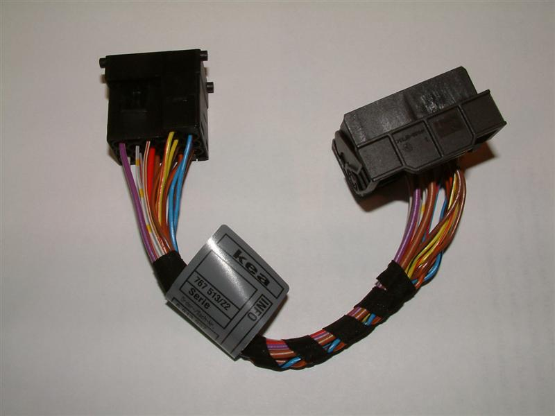 7 8 04015 bmw navigation sirius & auxiliary audio retrofit bimmernav radio harness adapter at bayanpartner.co