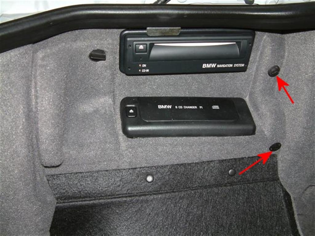 Bmw Television Retrofit Bimmernav Online Store E39 Nav Wiring Diagram Next Step Is To Remove The Two Plastic Screws On Right And Navigation Computer